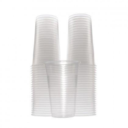 Pahare transparente, 400 ml, 50 buc./set