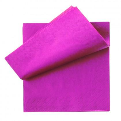 Servetel 33x33 cm., lila, 2 straturi, 250 buc./pachet