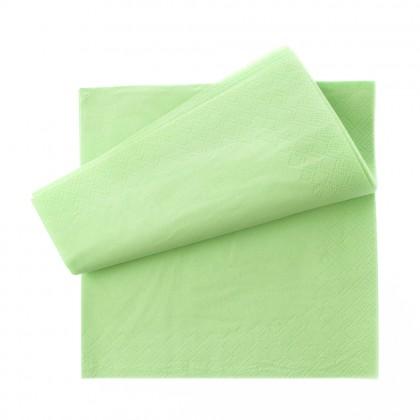 Servetel 33x33 cm., verde, 2 straturi, 250 buc./pachet
