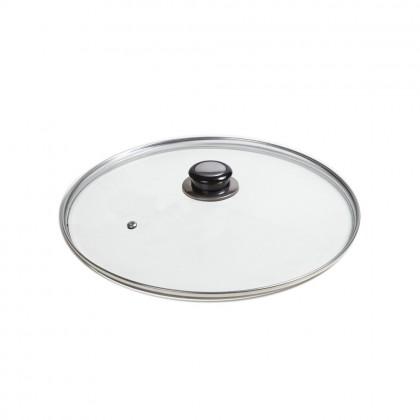 Capac din sticla termorezistenta, Ø 28 cm, pentru oale si tigai