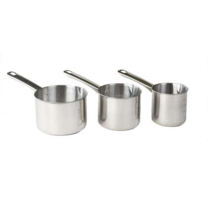 Set 3 ibrice inox 500/700/1000 ml