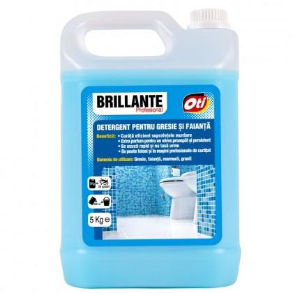 Detergent pentru gresie si faianta Brillante, 5kg